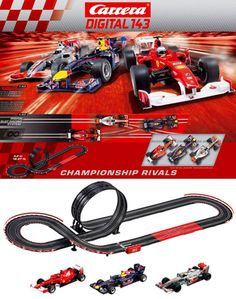 Carrera Digital Champion Rivals 1:43 Slot Car Set at HobbyTron.com