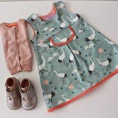 Lily en Woody: Tricot babykleedje: patroon 1 jaar