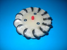 Small size #Mecanumwheel, this time it's perfect! This kind of wheel is amazing!