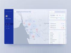 Waste Info Dashboard UI by Roman Radchenko Data Dashboard, Dashboard Interface, Digital Dashboard, Dashboard Design, Wireframe Design, Web Ui Design, Map Design, Interface Design, Card Ui