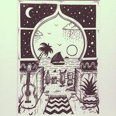 Jamie Browne Art @Jamie Browne ~ jamiebrowneart.com ~ Exotic Astral Palace