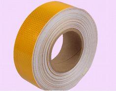 5cm*50M Orange Warterproof Reflective Warning Safety Self-adhesive Tape