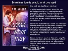 A.M. Arthur has a new book out on tour and there's a giveaway