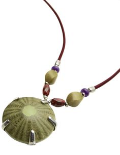 Sea urchin necklace by NATURE Bijoux