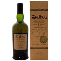 Ardbeg 21 Year Old Committee Reserve 2001 Single Malt Scotch 56.3%, Scotland