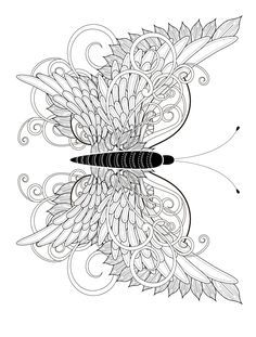 23 Free Printable Insect & Animal Adult Coloring Pages Mandala Stencils, Free Stencils, Stencil Templates, Mandala Painting, Templates Printable Free, Free Printables, Coloring Pages For Grown Ups, Free Adult Coloring Pages, Coloring Sheets For Kids