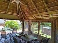 Outdoor Canvas Blinds :: Ruffstuff Outdoor Blinds, Pergola, Outdoor Structures, Canvas, Tela, Canvases, Arbors, Outdoor Shutters, Burlap