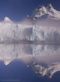 Glaciar Spegazzini, Lago Argentino, Parque Nacional de Los Glaciares, Patagonia Argentina.