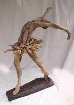 Driftwood dancer by Tony Fredriksson