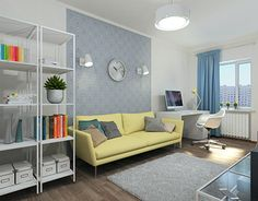"""Check out new work on my @Behance portfolio: """"Young family apartment"""" http://on.be.net/1X25eI9"""