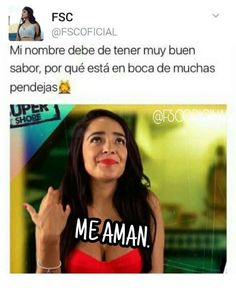 ❤¡Sigueme como Perla!❤ Funny Spanish Memes, Spanish Humor, Spanish Quotes, Wtf Funny, Funny Facts, Funny Memes, Quotes About Haters, Boss Bitch Quotes, Bad Quotes