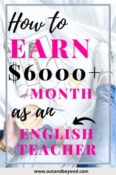 Learn all the ways you can make money as an english teacher! We have all started with no experience, you can do it too! #teachingenglish #englishspeaking #englisheducation #makemoneyfromhome #makemoneyonline #bestonlinejobs Online Teaching Jobs, Teaching English Online, Education English, Teaching Resources, Extra Money Jobs, Companies Hiring, Job Website, Best Online Jobs, Online Classroom