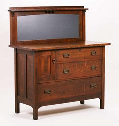 Stickley Brothers Sideboard with Mirror