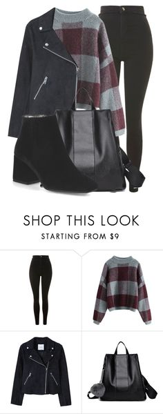 """""""Outfit #1944"""" by lauraandrade98 on Polyvore featuring moda, Topshop y MANGO"""