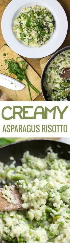 Creamy Asparagus Ris