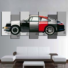 Cool 40 Cute Canvas Wall Art Décor Ideas That Make Living Room Look Amazing. Mens Wall Art, Car Wall Art, Wall Art Decor, Canvas Wall Art, Office Graphics, Office Wall Design, Cute Canvas, Office Prints, Showroom Design