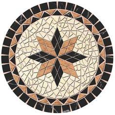 hacemos todo tipo de mosaicos para suelos, cualquier dibujo que nos traiga, nosotros se lo hacemos en cualquier formato que nos pida y con todo tipo de material. Mosaic Tile Table, Mosaic Birdbath, Mosaic Tray, Mosaic Tile Art, Mosaic Crafts, Mosaic Projects, Stone Mosaic, Mosaic Flower Pots, Mosaic Pots