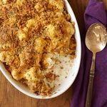 Cauliflower Au Gratin Recipe | MyRecipes.com