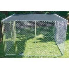 Tucker Murphy Pet Amelia Universal W x L Sunshade Cover Kennel Contemporary Dog Houses, K9 Kennels, Wood Dog House, Dog Playpen, Dog Yard, Dog Pen, Pet Resort, Dog Cages, Rabbit Hutches