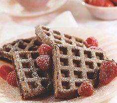 Cocoa-Espresso Waffles