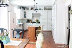 Finding Home - Our Farmhouse Kitchen