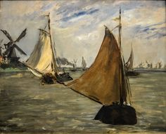 Edouard Manet - View in Holland, 1872 at the Museum of Art Philadelphia PA   by mbell1975