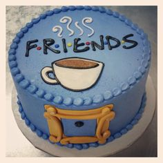 Ideas For Birthday Cake For Teens Sweet Sixteen Friends 14th Birthday Cakes, Friends Birthday Cake, Friends Cake, Birthday Cakes For Teens, Themed Birthday Cakes, Friends Tv, 30th Birthday, Funny Birthday Cakes, Cake Tv Show