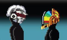 """04  Настоящая пиксельная графика характеризуется такой техникой, при которой изображение создается """"осторожным добавлением пикселей"""". Важен процесс, а не результат. Количество цветов лимитировано, так как пиксельная графика использовалась на  старых игровых и мобильных платформах."""