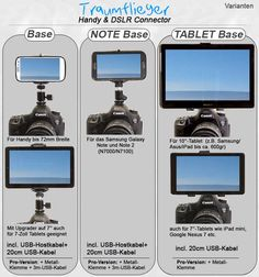Video: Using an Android phone or tablet as a remote control for your camera (in German) - Traumflieger.de