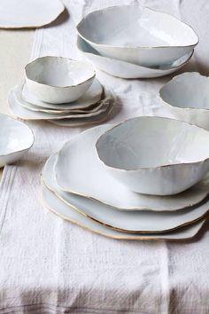 schönes geschirr krukker National Museum of Ceramics Princessehof: A Surprising Contemporary Interior with Century Style Ceramic Bowls, Ceramic Pottery, Ceramic Art, Stoneware, Earthenware, Slab Pottery, Thrown Pottery, Pottery Plates, Glazed Ceramic