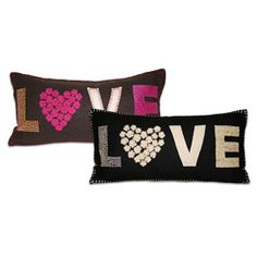 Marlo Lorenz 'New Love' Wool Pillow