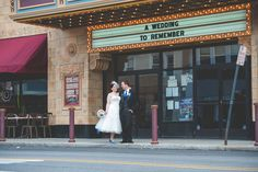 A wedding to remember--Theater Wedding. Photo by BG Prodcutions