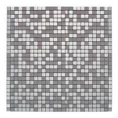 Mozaika samoprzylepna silver 30 cm x 30 cm