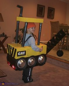 PJ the Wrecker - Halloween Costume Contest via @costumeworks. Reminds me of Goodnight Goodnight Construction Site