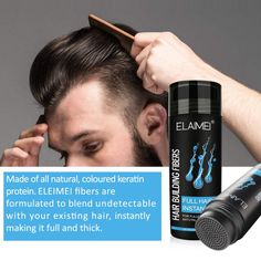 Hair Growth Fiber Powder Replenishing Spray Hair Powder Instantly Replenishes The Hair Thick And Grows Quickly FREE SHIPPING