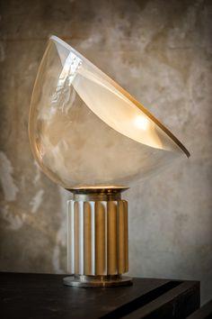 """1962 """"Taccia table light"""" -Achille & Pier Giacomo Castiglioni"""