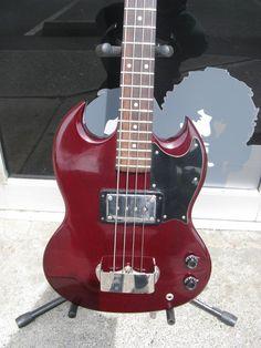 1974 Gibson SG Bass