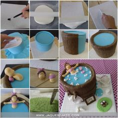 Spa Cake tutorial
