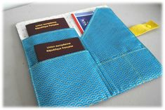 {Voyages, Voyages 1/3...} Tuto gratuit : la pochette passeport