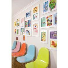 what a fun waiting room