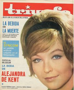 Marina Vlady on the Cover of Triunfo.