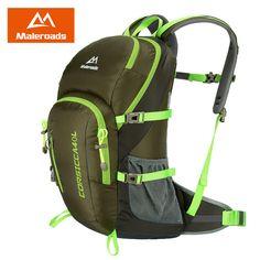 New ! Men's Climb Backpacks Waterproof Nylon Travel Mountaineering Bag Zipper Hike Backpack for Backpacker 40L