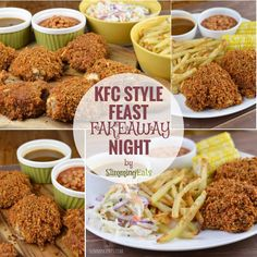 Can you believe my KFC Style Feast Fakeaway Night that you see right here is Slimming World friendly? What is it about that southern style crispy chicken t Slimming World Fakeaway, Slimming World Dinners, Slimming World Diet, Slimming Eats, Slimming Recipes, Fake Away Slimming World, Kfc Chicken Slimming World, Slimming Word, Healthy Eating Recipes