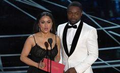 Salma Hayek ya sabía del error en los Oscar