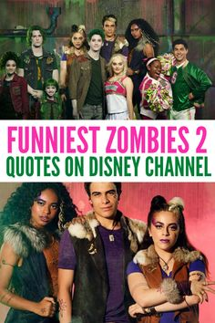 Have you seen Z-O-M-B-I-E-S 2 on Disney Channel? Here are 25 of our favorite Zombies 2 quotes from this Disney Channel original movie. Do it like the Zombies do. Disney Channel Movies, Disney Channel Original, Original Movie, Disney Movies, Best Zombie, Zombie 2, Zombie Party, Disney Posters, Disney Quotes