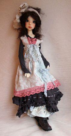 Laycee - doll by Kaye Wiggs
