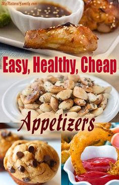 Easy, Healthy, Cheap Appetizers Recipes #AppetizerRecipesChristmas