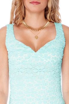 Lace Mint Dress