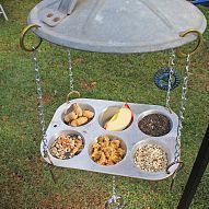 Repurposed / Upcycled Hillbilly Bird Feeders