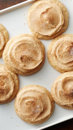 Brown Butter Snickerdoodles. Important Christmas cookie lesson: We should've been putting brown butter and snickerdoodles together a long time ago!